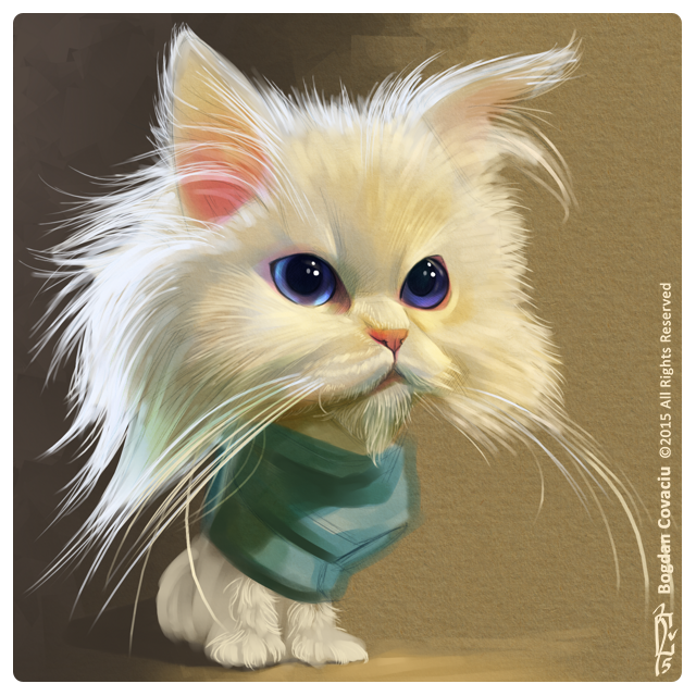 Kitty cat by bogdancovaciu