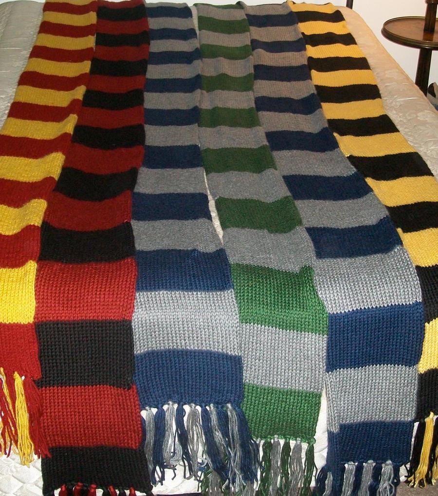 Harry Potter Scarves - Erieairfair
