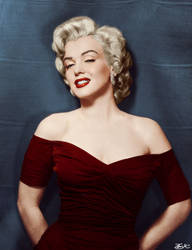 Marilyn Monroe Colorization