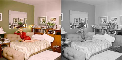 Marilyn Monroe Beverly Carlton Hotel, 1951