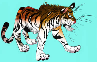 Tiger 30 10 by Isra-sp