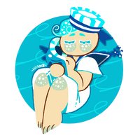 cookie run: peppermint cookie by m5w