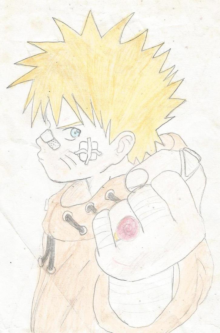 Uzumaki Naruto by xRoseDrin