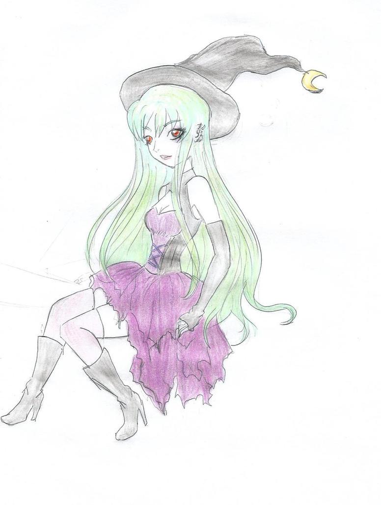 Witch by xRoseDrin