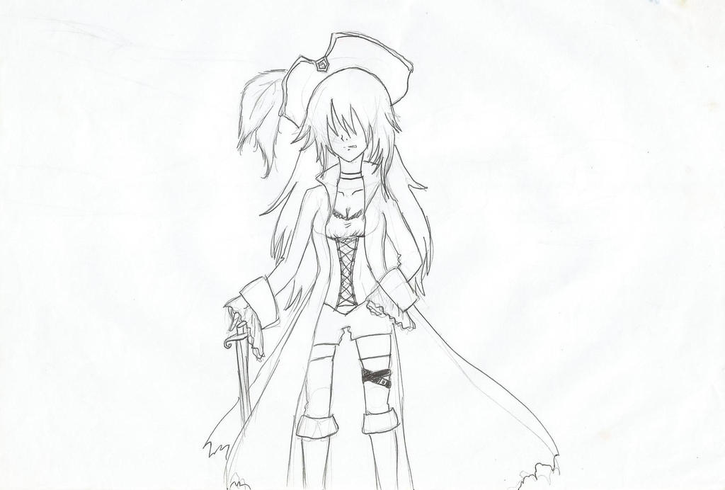.:Pirate Girl:. by xRoseDrin