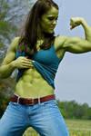 She Hulk in Jeans