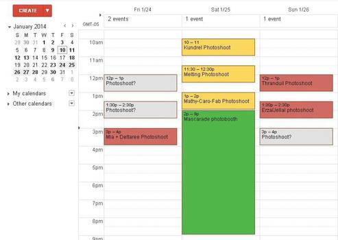 G-Anime 2014 schedule