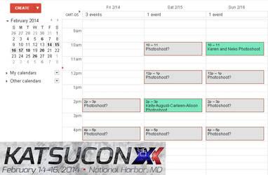 Katsucon 2014 Schedule!