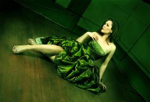 the dress by rebekah-modeling