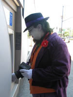 Joker at the ATM by dragonduff