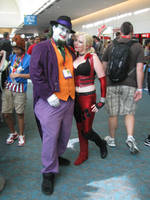 Joker and Harley - Arkham City by dragonduff
