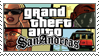Grand Theft Auto San Andreas Stamp by aidiotcalledNoob