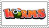 Worms stamp by aidiotcalledNoob