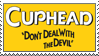 Cuphead stamp