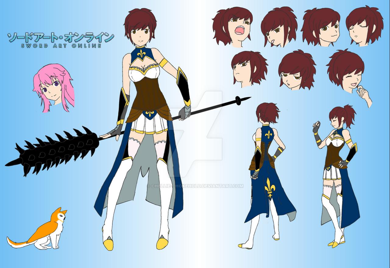 Sword Art Online Oc By Chellie Chokehold On Deviantart