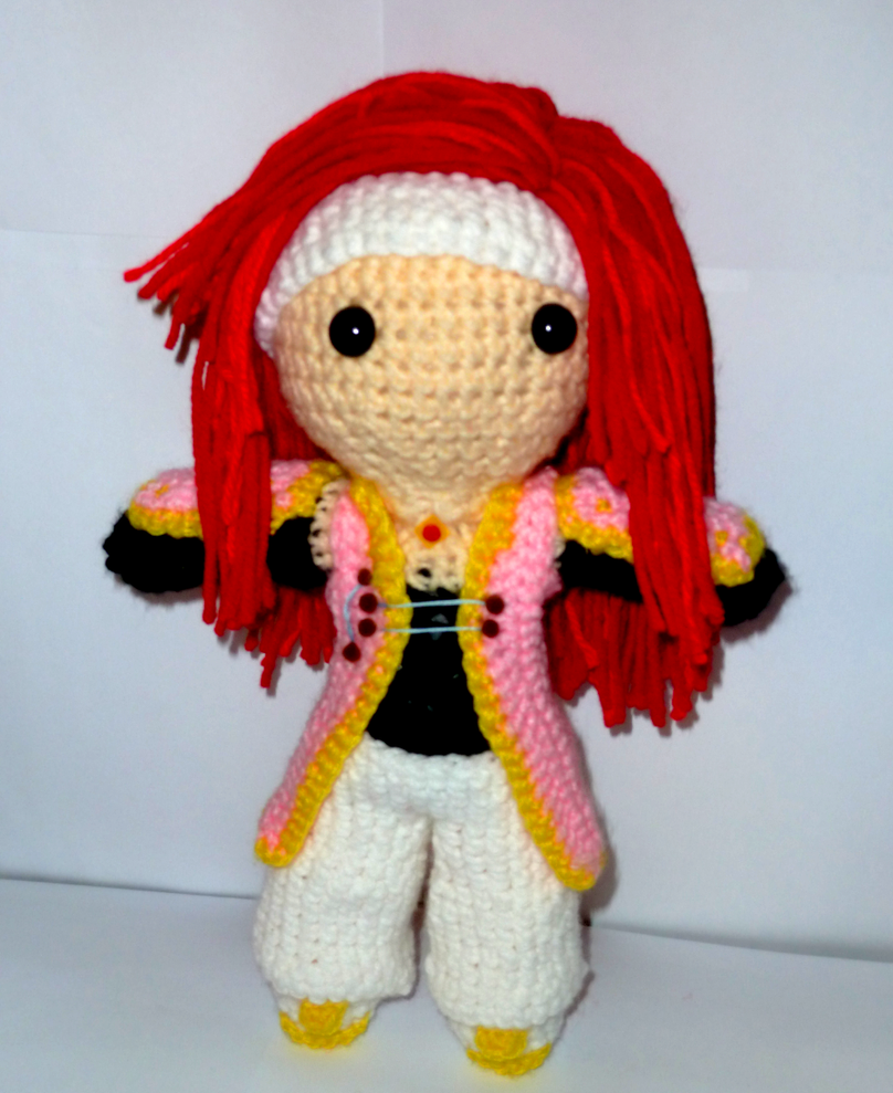 Zelos Wilder - Crochet by ForeverNightingale