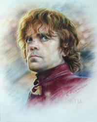 Portrait Drawing  of Peter Dinklage by Drawing-Portraits