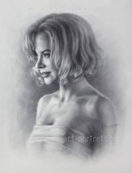 Nicole Kidman drawing