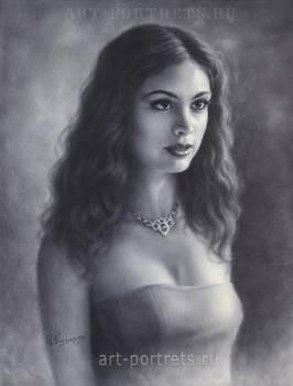 Morena Baccarin Drawing