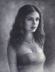 Morena Baccarin Drawing