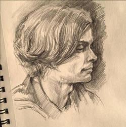 Spencer (sketch 2) by Ognivik
