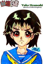 [YYH OC] Yuko Urameshi (1) YuuKei Fankid by Shadechu