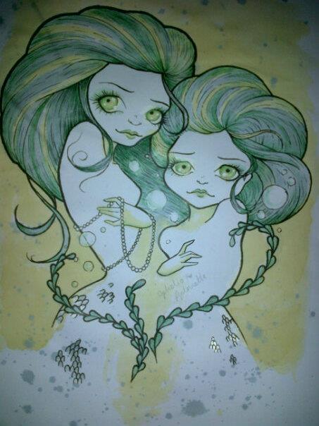 Mermaids by OpheliaAntoinette