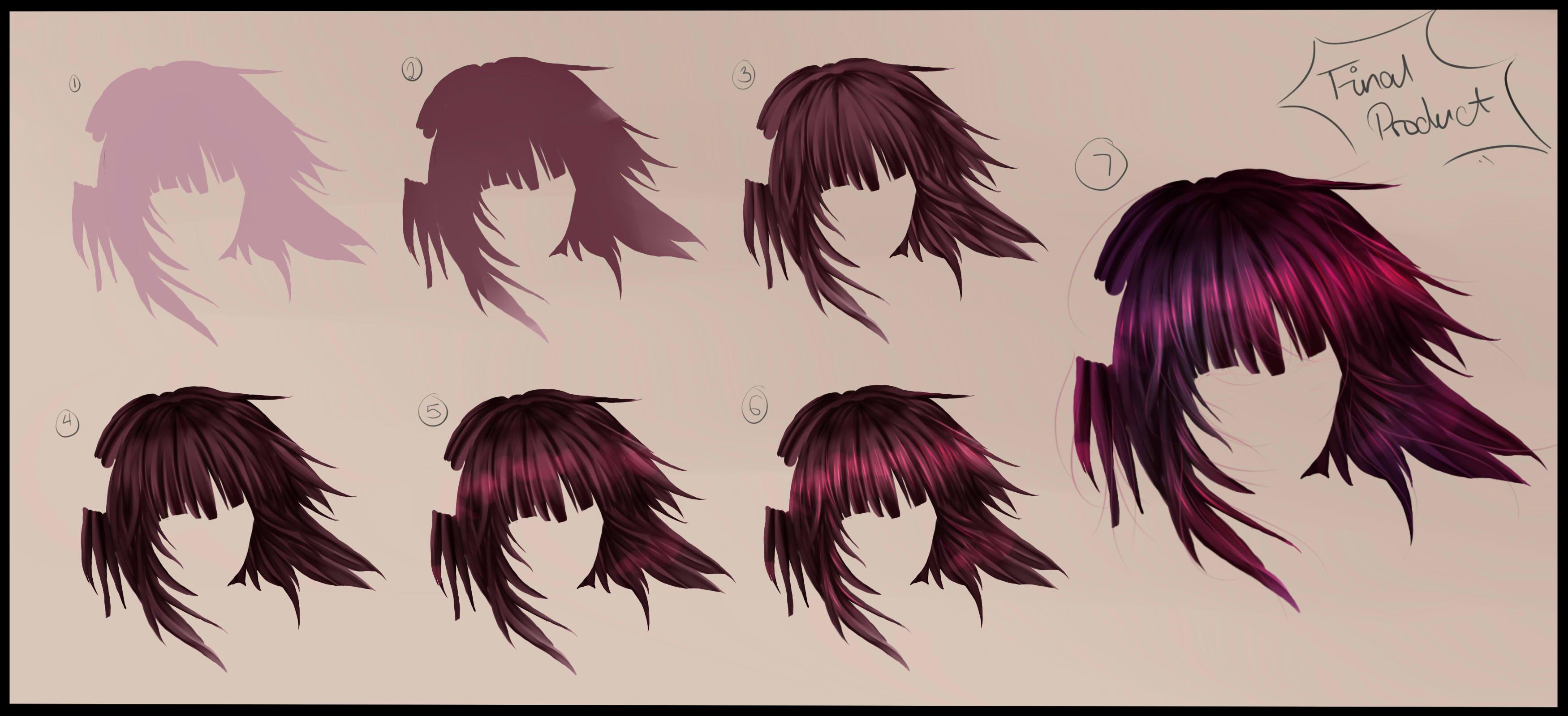 Art color hair -  Hair Tutorial Step By Step By Ka Rael
