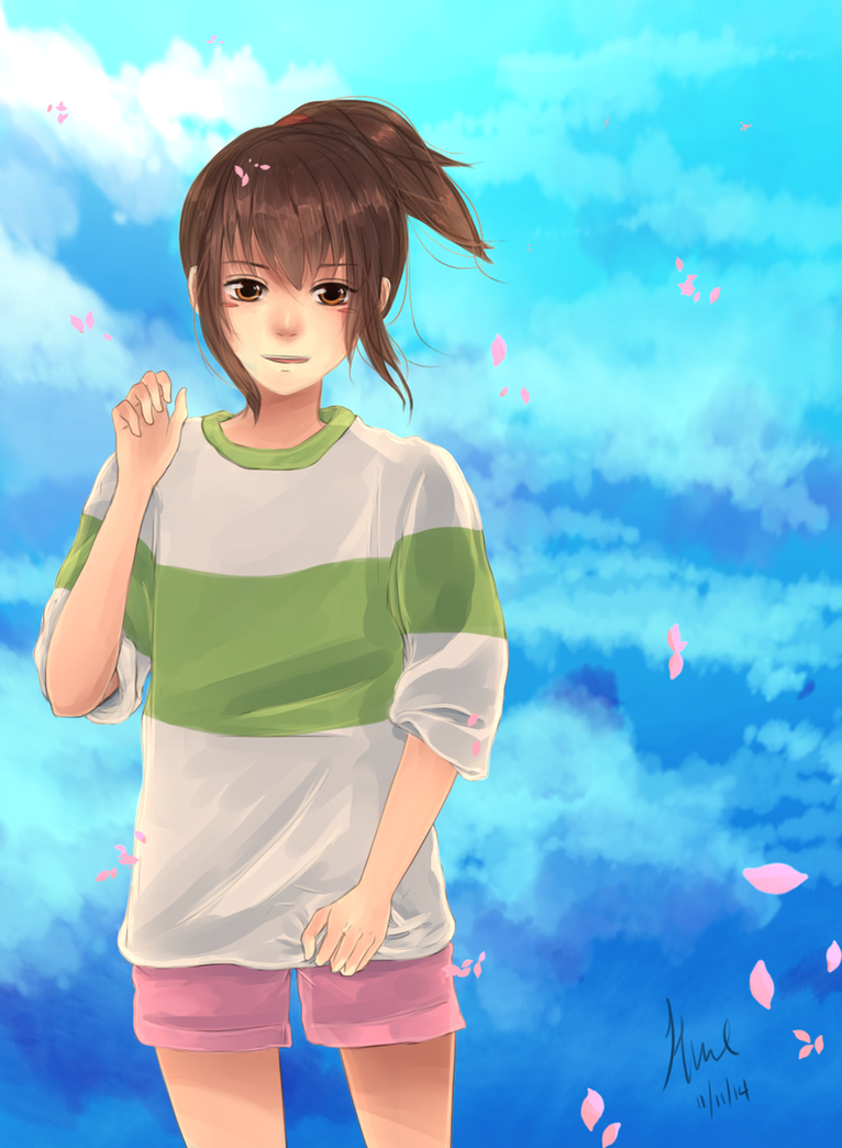Spirited Away by ka-rael
