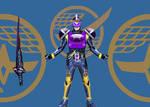 Kamen rider Gaim Neptune Arms!!