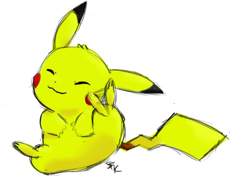 Pikachu Sketchy-Thingy by SallysFunnyKiss