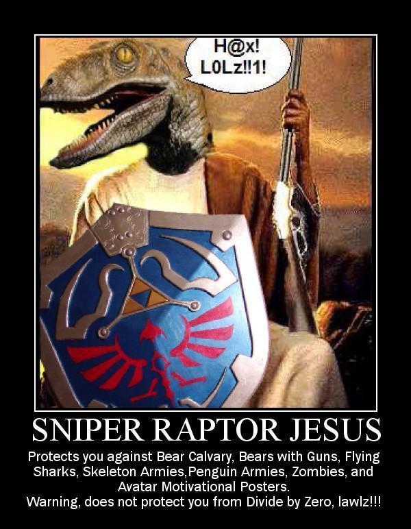 Mini jeux: comment représentez vous les membres du forum? - Page 2 Raptor_Jesus_HAX_by_joker_kornstantine