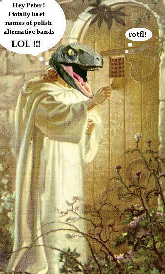 raptor jesus knock knock by joker kornstantine on deviantart