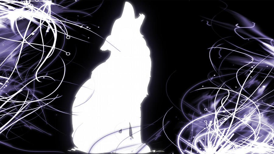 Howling Wolf Silhouette Wallpaper By PurinBicchi On DeviantArt