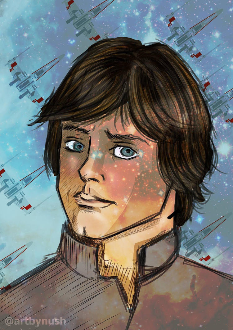 Luke Skywalker by Nush1974
