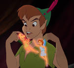 Peter Wendy Tinkerbell-Hey you two stop fighting
