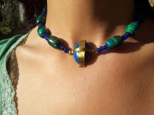 Faux-medieval necklace