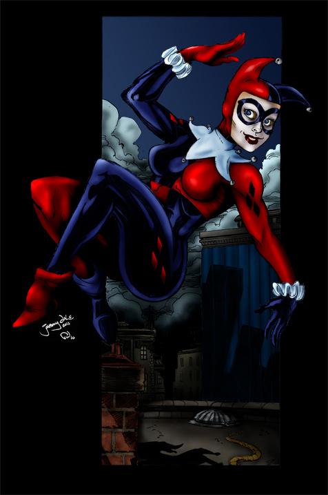Harley Quinn - Dale by Pauldew