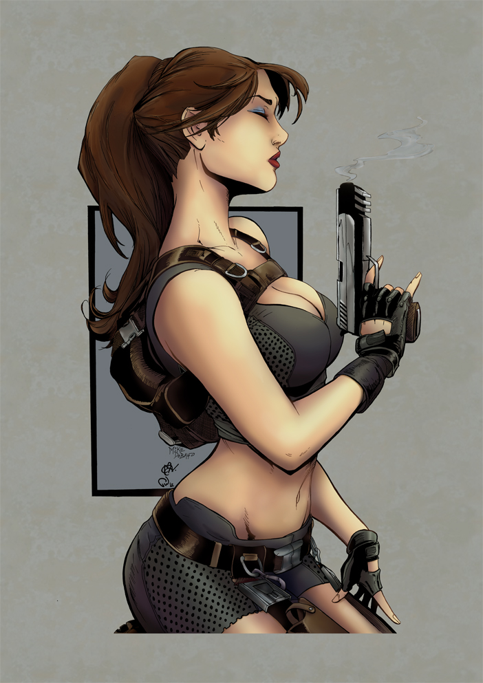 Lara Croft - Debalfo by Pauldew