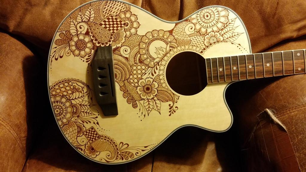 Henna Bass Guitar By Jlynch2000