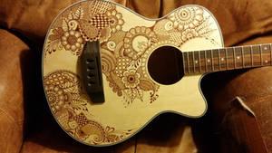 Henna Bass Guitar