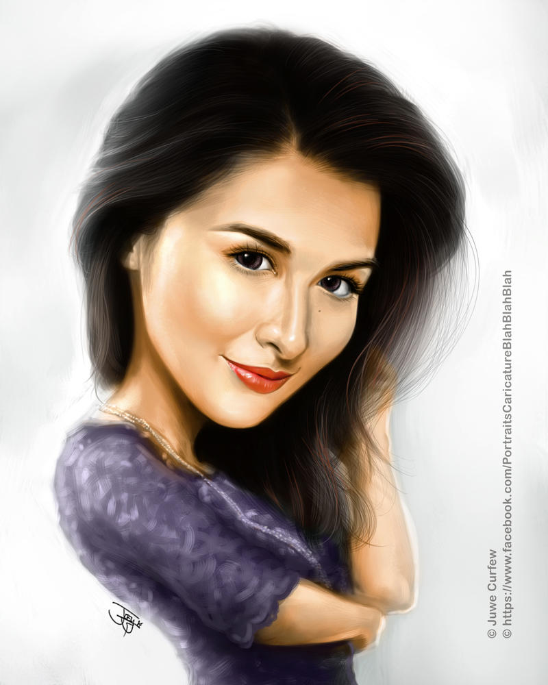 marian rivera fan art by joeymasong