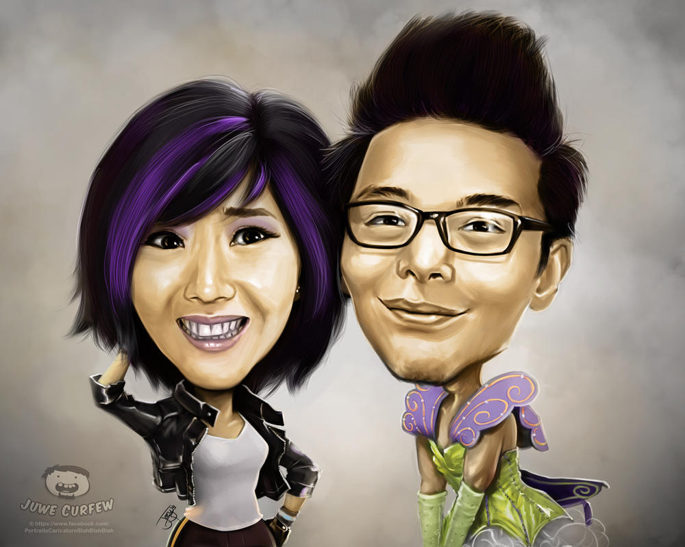 gogo tamago and alodia by joeymasong