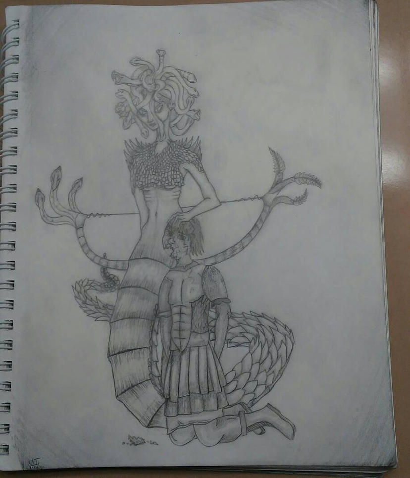Medusa by Grimroof