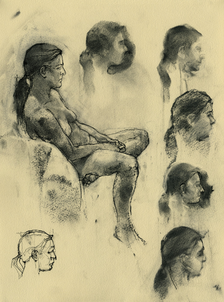 Life Drawing 2012: 01 by napoleoman