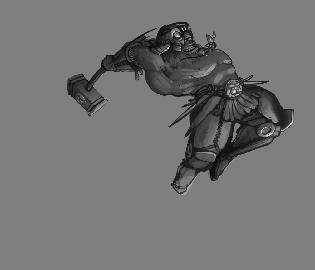 DnD Dwarf by napoleoman