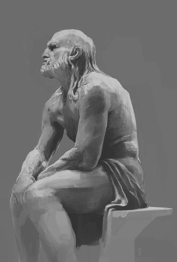 Digital Sketch by napoleoman