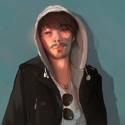 self portrait by Awedacious