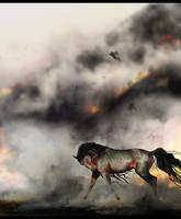 ART TRADE: WALTZ, I SEE FIRE by Falony
