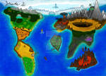 World Map Speedpaint by JustinArt87